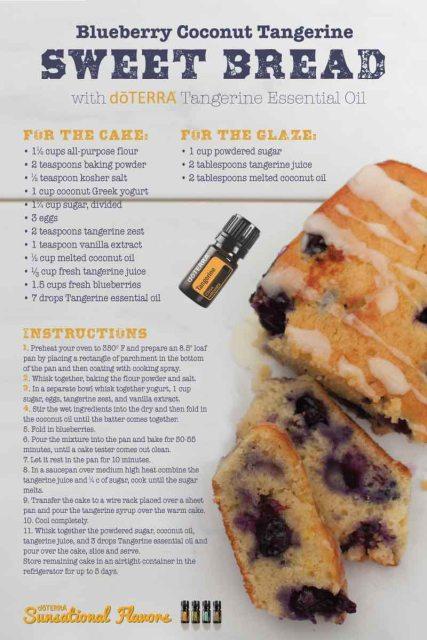Blueberry-Coconut-Tangerine-Sweet-Bread