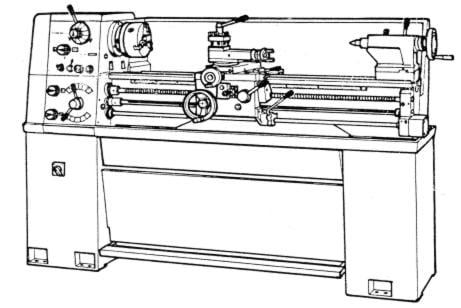 Metal Lathe 13x30 13x40 14x30 14x40 Instruction & Parts