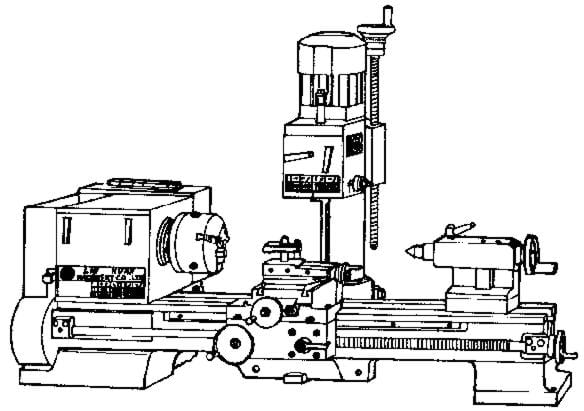 Metal Lathe/Mill 8
