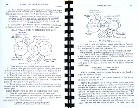 Atlas Craftsman Manual of Lathe Operation Book for 12