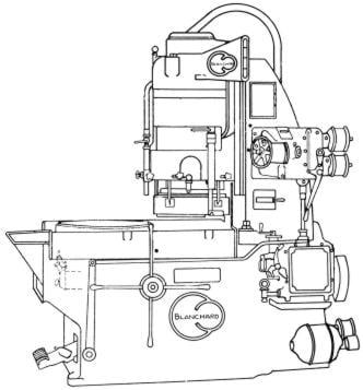 BLANCHARD 16 Surface Grinder Operator's & Maintenance