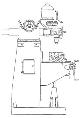 BRIDGEPORT Round Ram Vertical Milling Machine Instructions