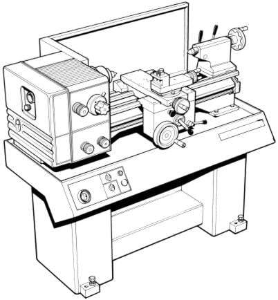 CLAUSING 11 inch Metal Lathe Instructions & Parts Manual