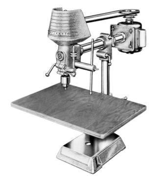 Radial Drill Press