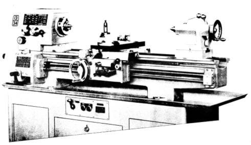 STANDARD-Modern 1120 & 1334 Metal Lathe Operator's & Part