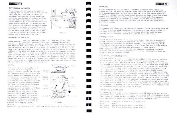 KALAMAZOO-STARTRITE Band Saw 216, 316 Service Manual