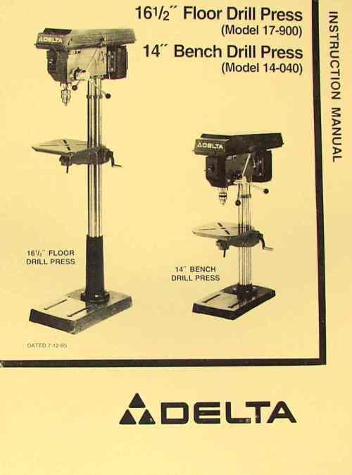 small resolution of delta rockwell 17 900 14 040 16 5 drill press operator s parts delta drill press wiring diagram