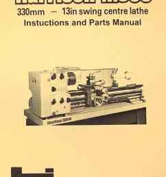 harrison m300 metal lathe operator and parts manual [ 1009 x 1362 Pixel ]