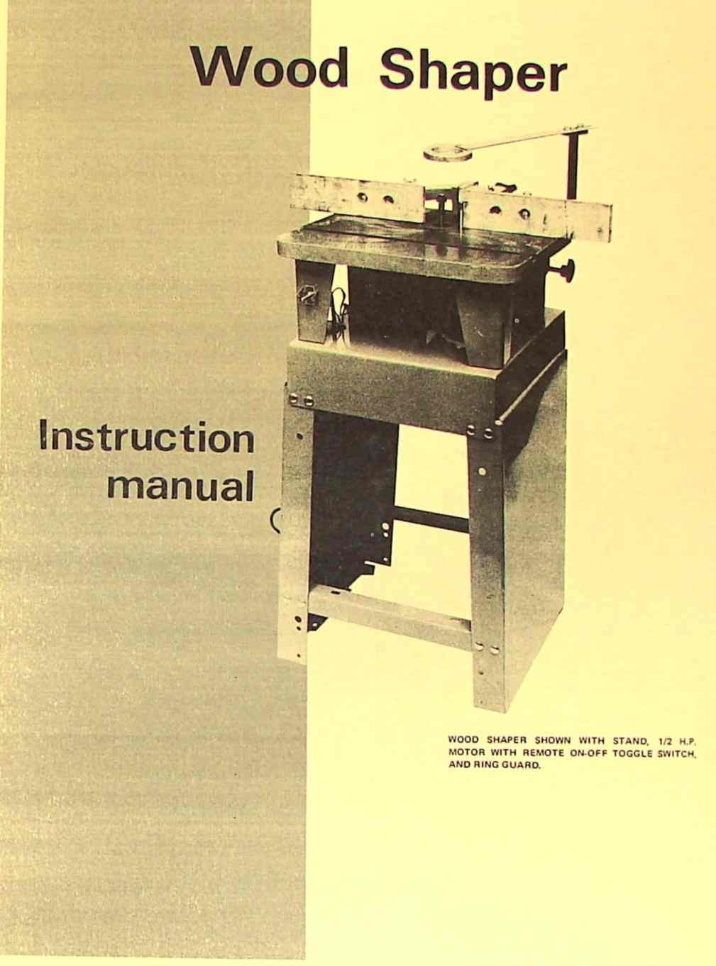 hight resolution of jet asian small wood shaper operator parts manual