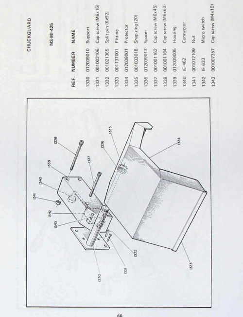 NARDINI Lathe MS-1400S-E 1600S-E 175S-E 205AS-E Manual