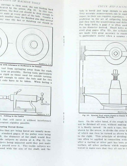 Operation of Machine Tools Metal Lathe How-To Manual Part