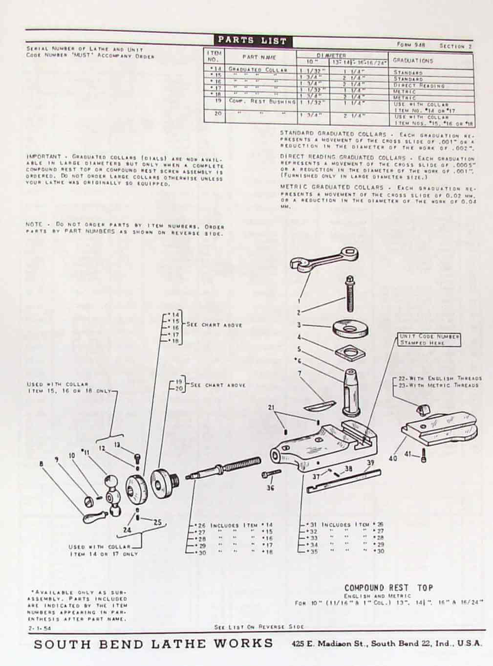 hight resolution of south bend 10 13 14 5 16 16 24 lathes parts manual