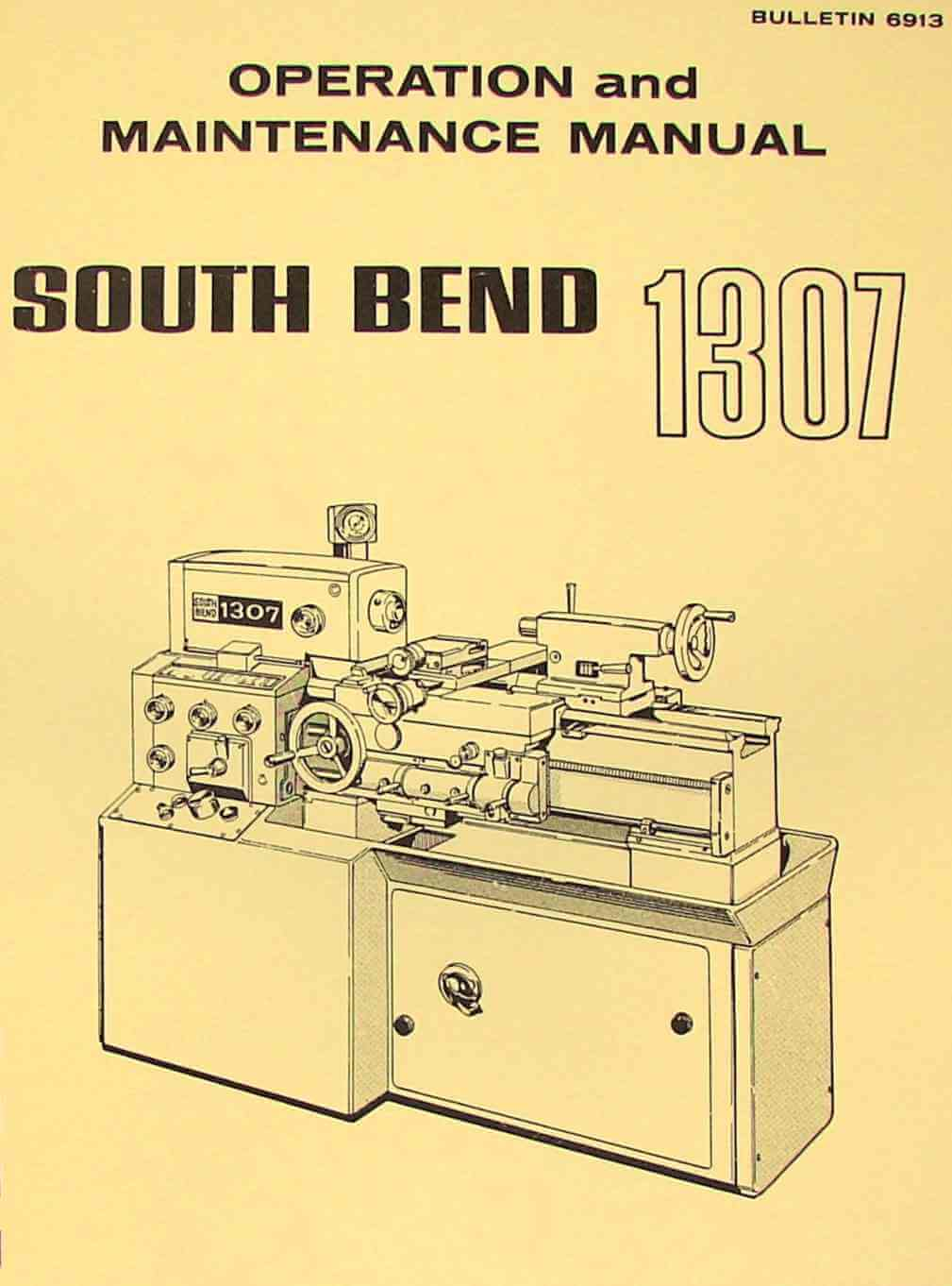South Bend Lathe Taper Attachment Instructions