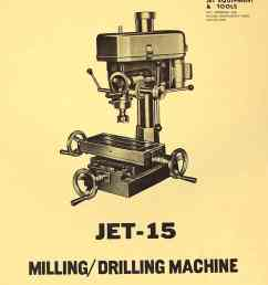 jet 15 drill mill instructions and parts manual asian enco msc [ 1009 x 1352 Pixel ]