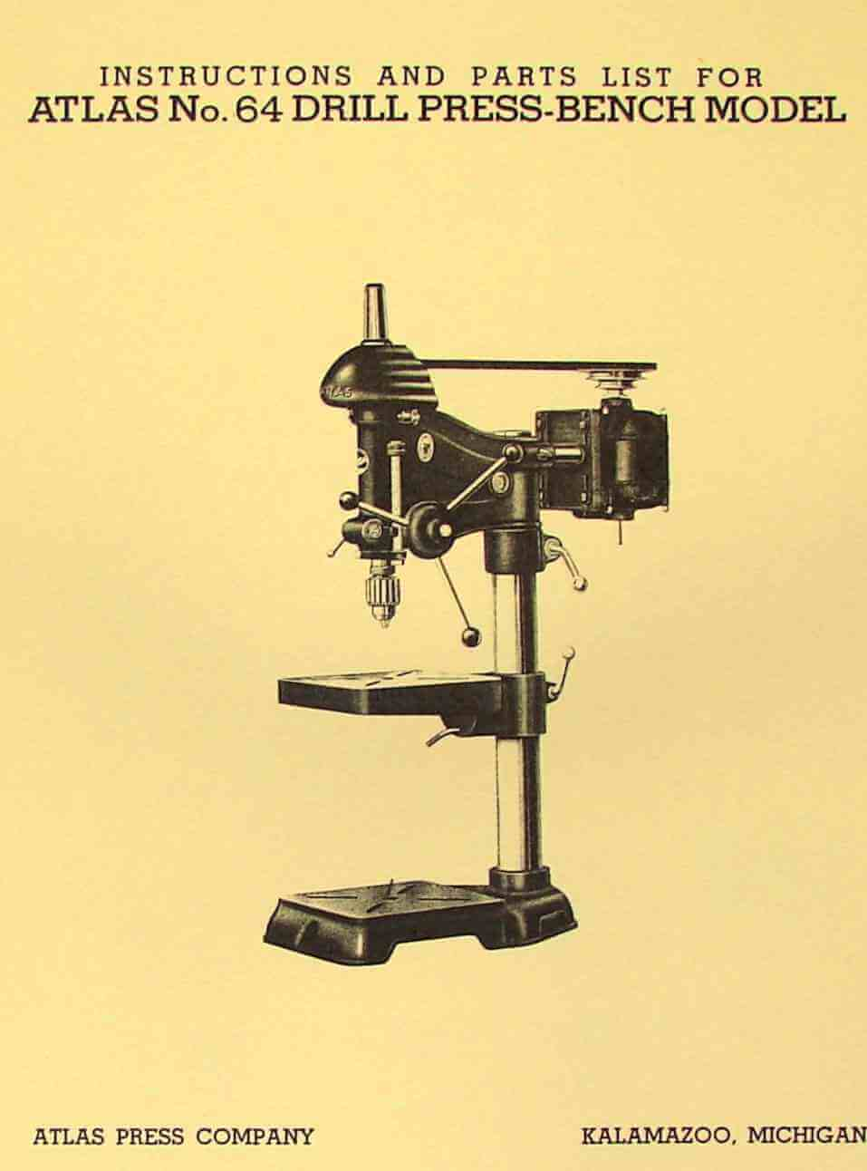 Atlas Drill Press Parts | WoodWorking
