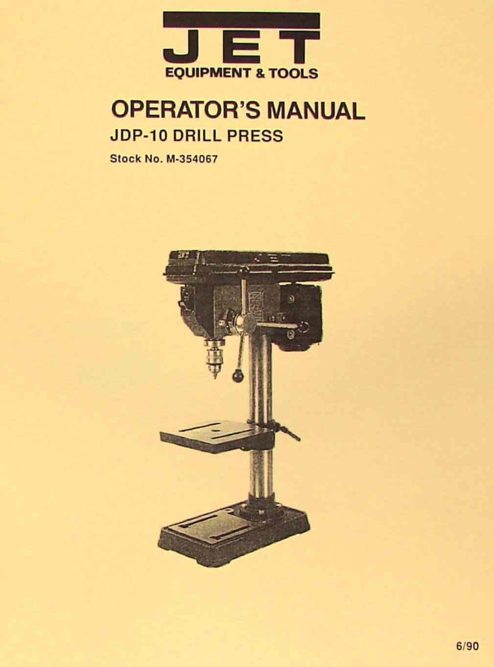 hight resolution of jet asian jdp 10 10 drill press owner s operator s parts manual
