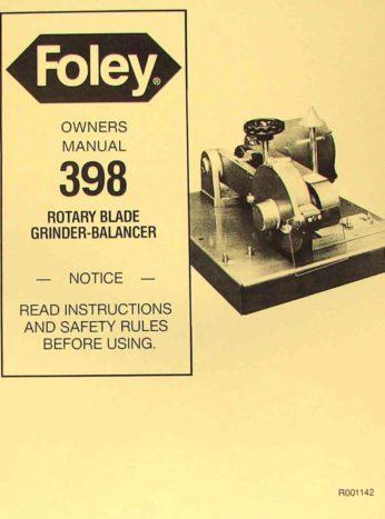 Foley Belsaw 200 Manual Pdf