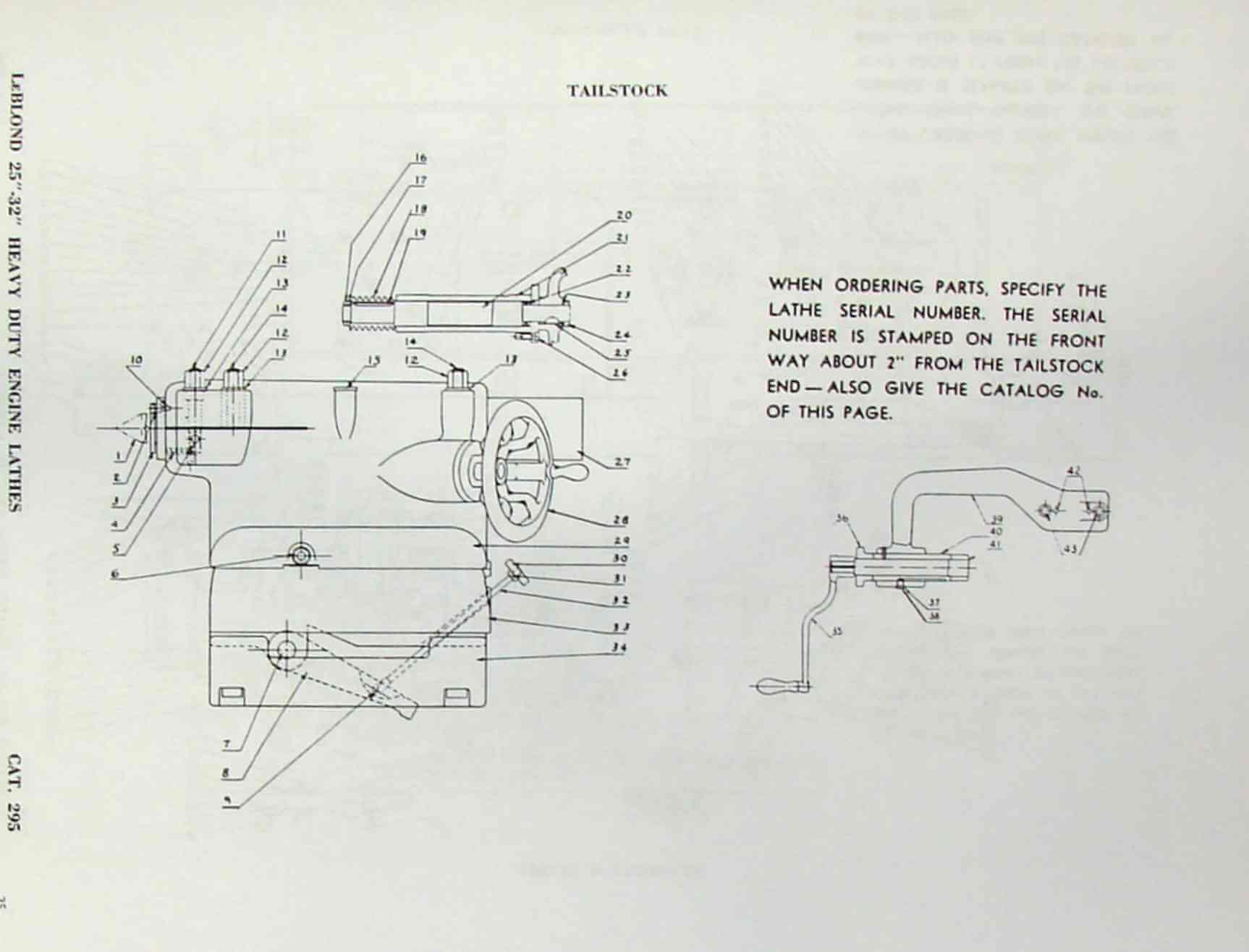 hight resolution of leblond 25 32 plain heavy gap bed hollow lathes instruction part manual