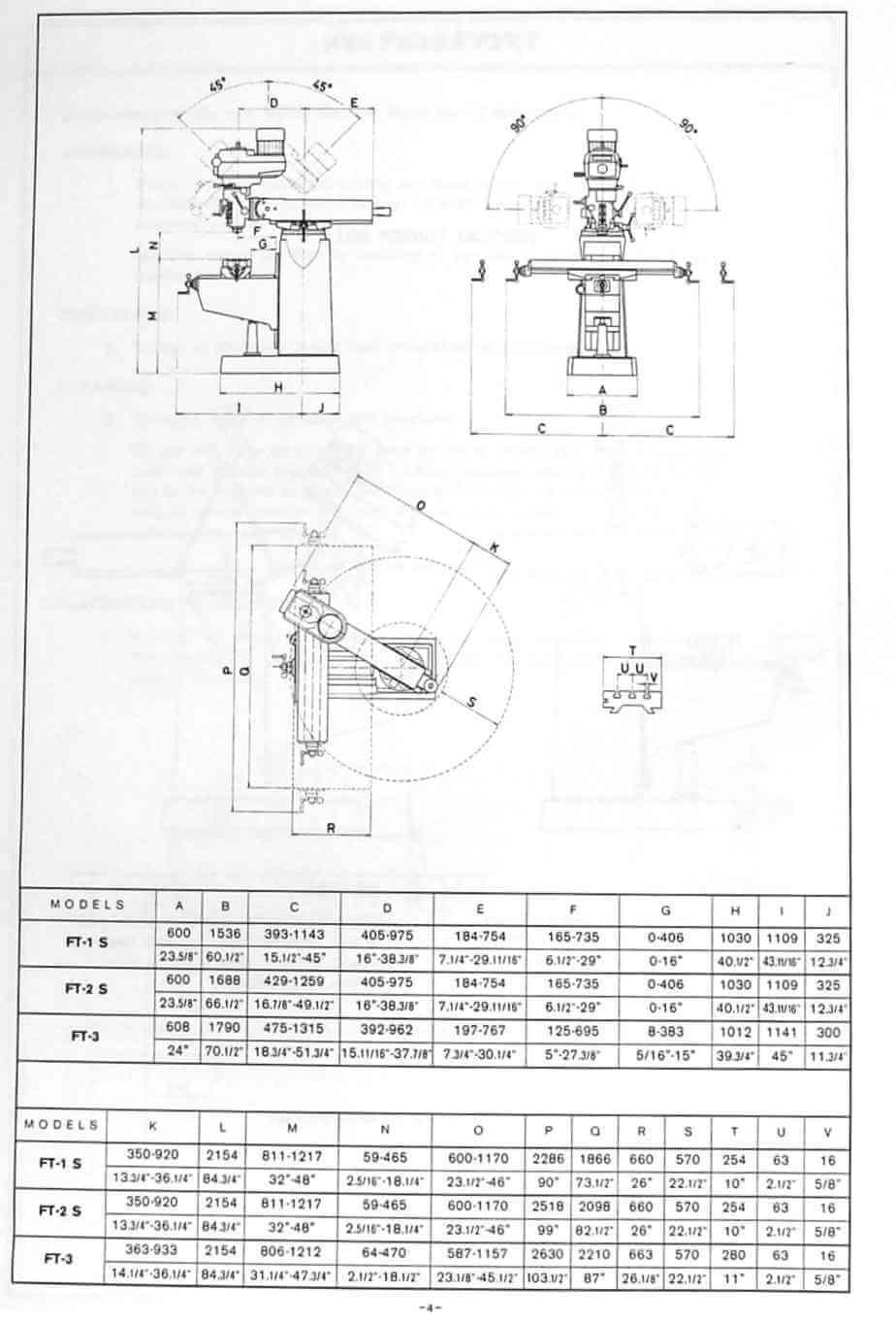 LAGUN FTV-1S FTV-2S FTV-3S Vertical Milling Machine