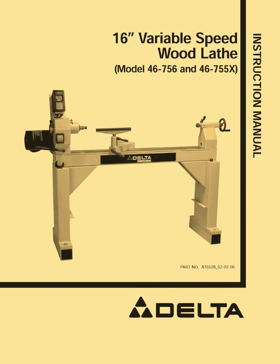 Parts Of A Wood Lathe Machine