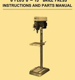 drill press wiring diagram wiring diagram [ 873 x 1200 Pixel ]