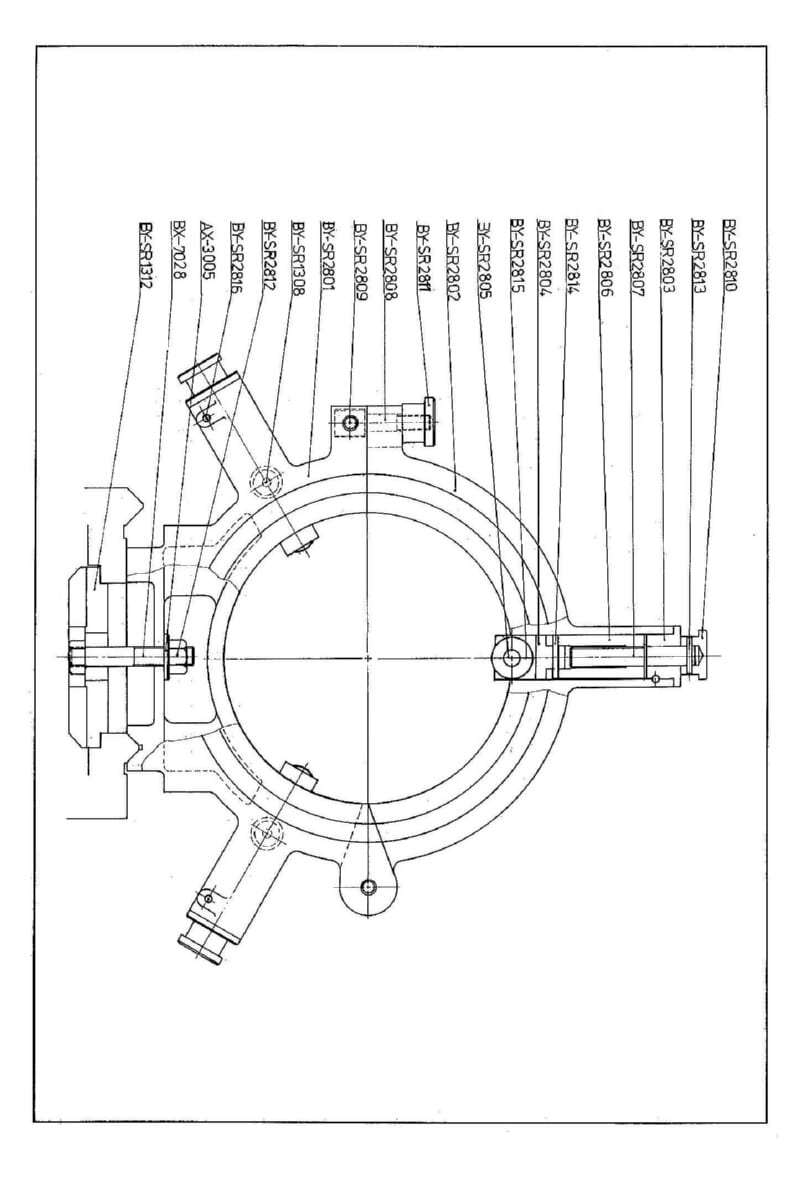 GOODWAY GW-1622,1630,1640,1660 Metal Lathe Parts Manual