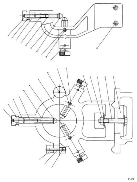 LUX-MATTER Acra 1340G Metal Lathe Instructions and Parts