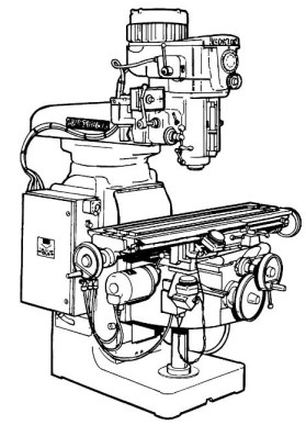 GORTON 1-22 Mastermil Milling Machine Parts Manual