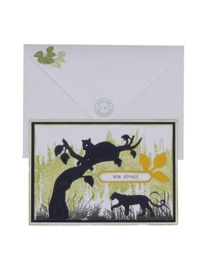 Carte Lionnes Hoïna avec enveloppe