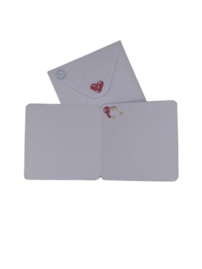 Carte Amour avec enveloppe