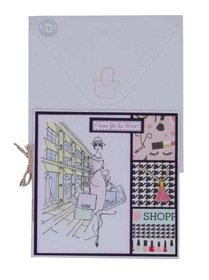 Divamania Fashionista avec enveloppe