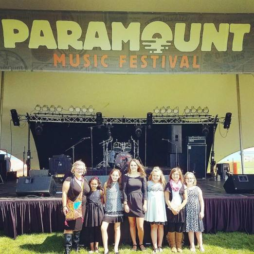 ozaukee talent at paramount music festival