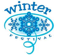 Winter Festival light blue logo