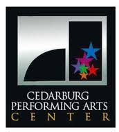cedarburg performing arts center logo