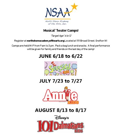 children's theater musical theater summer camps