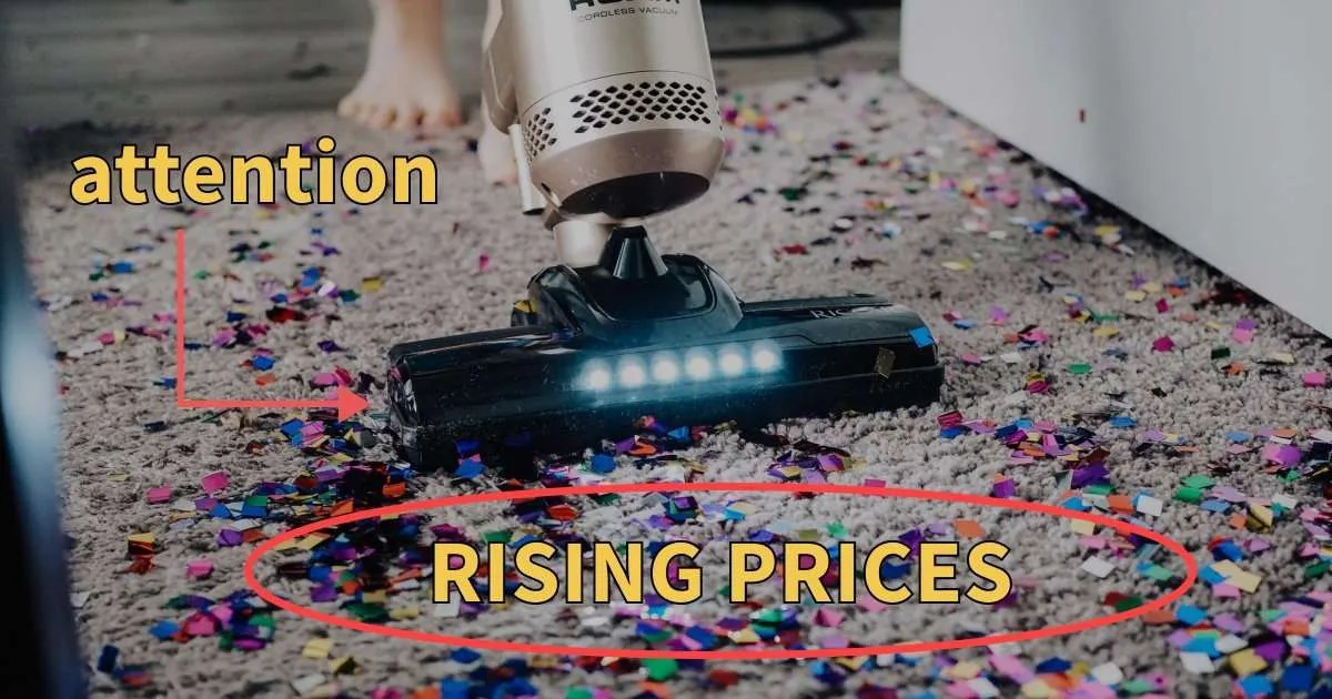 rising prices suck attention