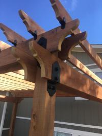 Choosing Decorative Metal Brackets for Wood Beams: Weather ...