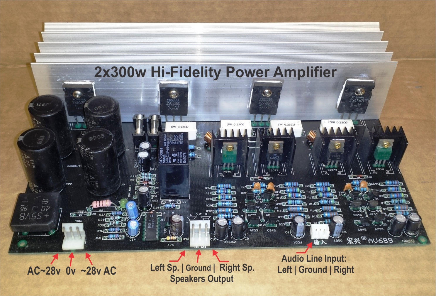 Direct Coupled 15 Watt Amp