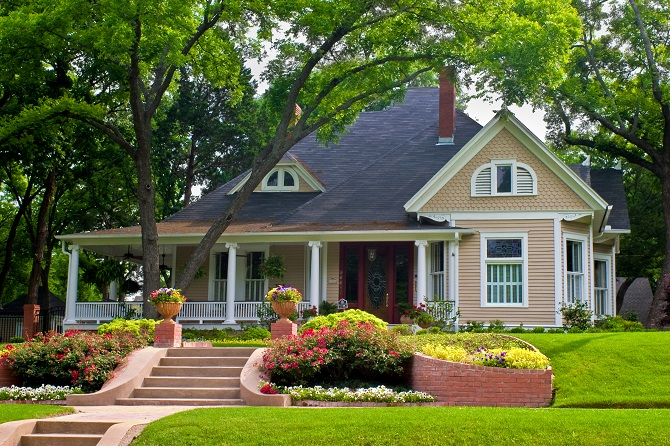 landscaping adds home value