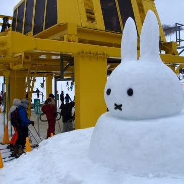 Japan's Official Miffy Ski Park : Katashina Kogen Ski Resort