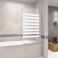 Badewanne Duschwand 180trennwand duschabtrennung 80x140cm ...