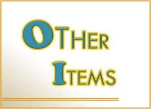 Other Items