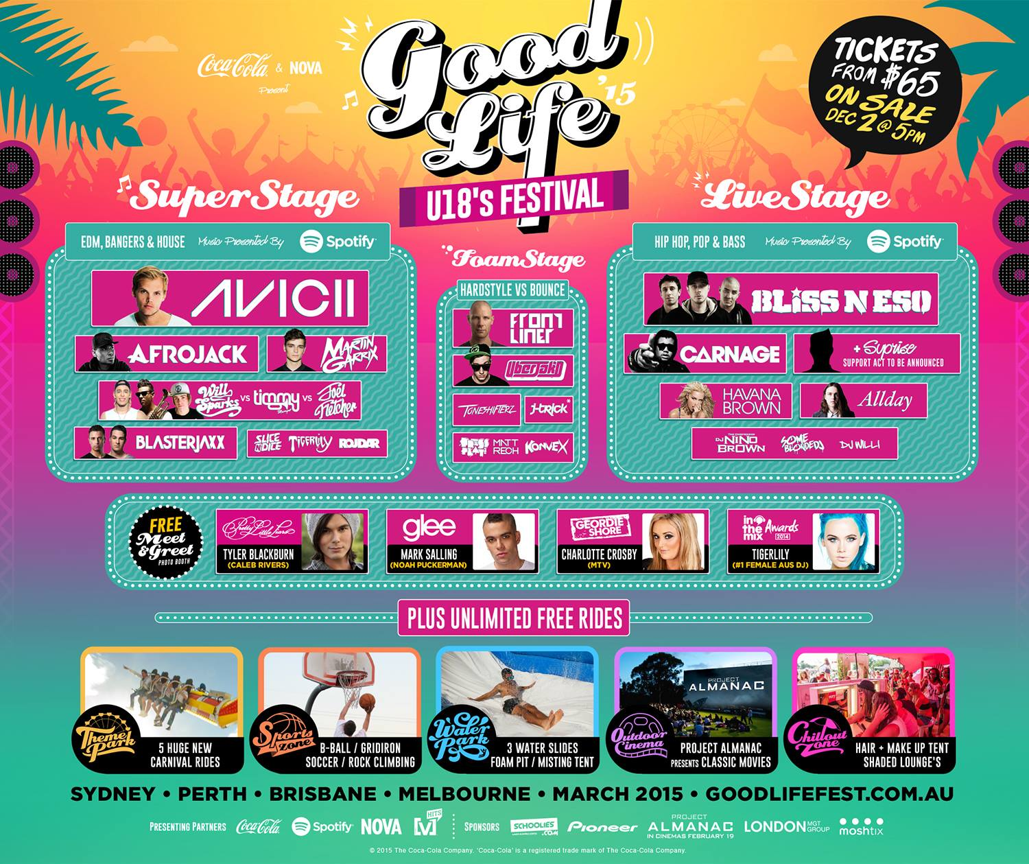 Good Life Festival Release 2015 Lineup
