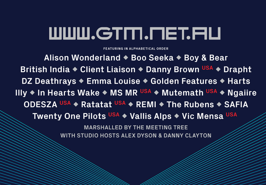 Groovin The Moo 2016 Lineup Full