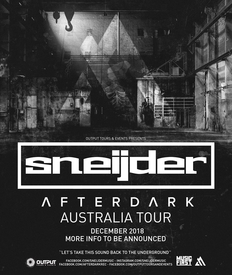 Sneijder-After-Dark-Australian-Tour-2018