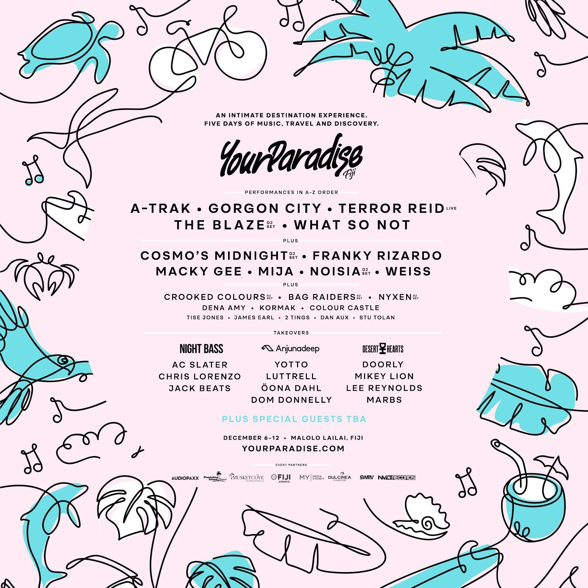 your-paradise-2019-lineup-oz-edm-poster