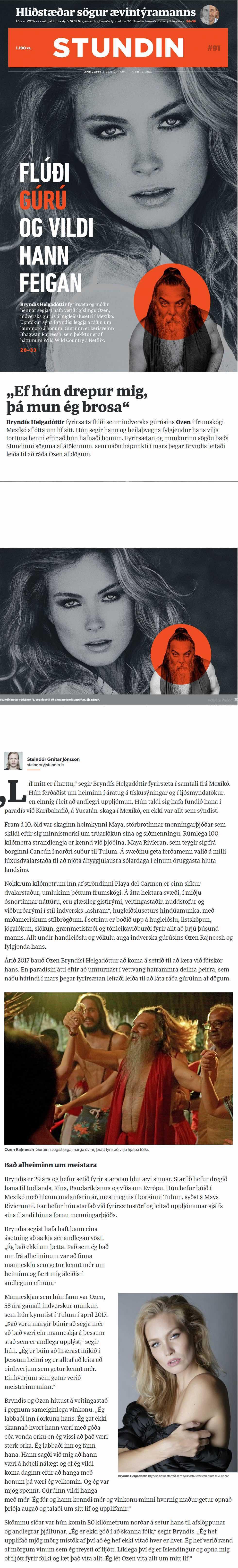 STUNDIN bryndis helgadottir exposing deadly murder plot part 1