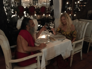 BRYNDIS HELGADOTTIR & OZEN RAJNEESH love affair - one more romantic dinner