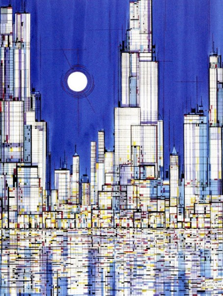 viktor-schreckengost-cityscape-skyline-cityzenart