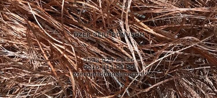 Ümraniye Hurdacı – 0533 923 61 86 – Bakır Pirinç (Sarı) Kablo Demir Hurda